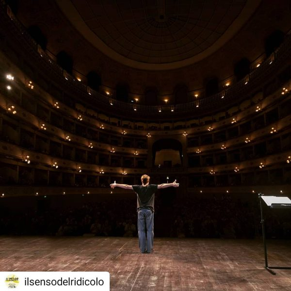Ieri sera un immenso Gifuni al Teatro Goldoni.