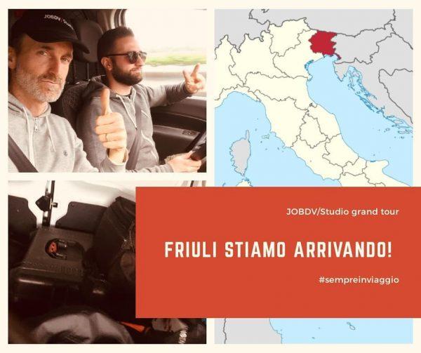 Next stop: Friuli! 🚛🎥